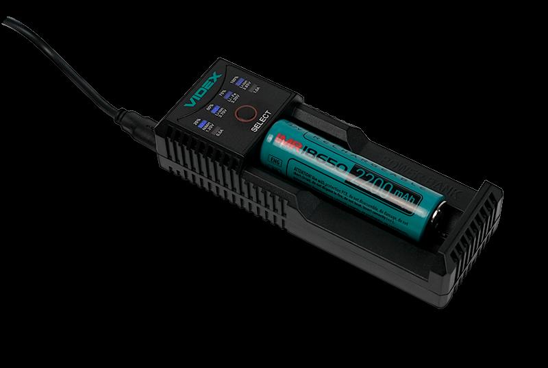 Зарядное устройство VIDEX VCH-U100 с аккумулятором