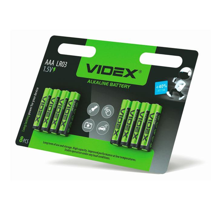 VIDEX LR3 8 BLISTER CARD