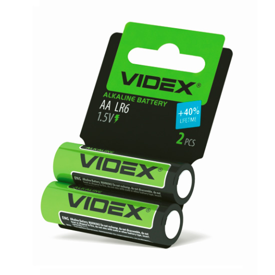 VIDEX LR6 2 SHRINK CARD